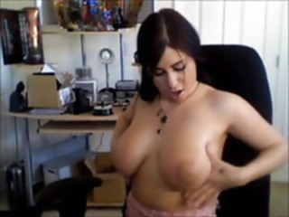 amateur Whitney's self-shot home video sex toy