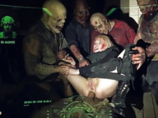 anal HORRORPORN Zombie blowjob
